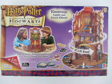HARRY POTTER Adventures Through Hogwarts Electronic 3-D Board Game - Complete