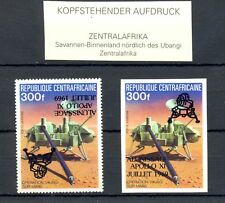 REP CENTRAFRICAINE APOLLO - VARIETY - INVERTED OVERPRINT + IMPERF--** MNH VF