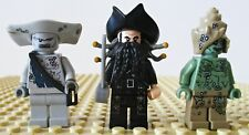 Lego - Awesome Lot of ( 3 ) Rare Pirates Of The Caribbean Minifigures !
