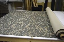 "ACU DIGITAL NY/CO TWILL UNIVERSAL CAMOUFLAGE FABRIC MILITARY 58""W CAMO"