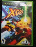 XGRA Extreme G Racing Association Xbox Original Complete Tested Rare Microsoft