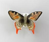 9997531 Ens Porzellan Figur Wand-Schmetterling Schwalbenschwanz orange 8x6cm