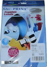 50 CD DVD NEO MATT OFFSET PRESSIT STYLE CD LABELS A4