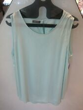 Sleeveless Aqua TOP UK16 BASLER Germany JZ40  REDUCED to Clear - Great VALUE!!!