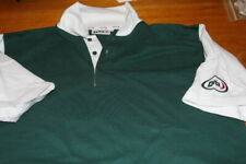 New listing Field Hockey Dita Green and White Polo New No Tags XL  Dita on Sleeve