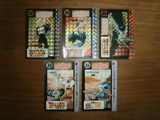 Lot Cartes DRAGON BALL Z - HONDAN CARDDASS Part. 13 (SET 3/6 PRISM + 2/2 RARE)