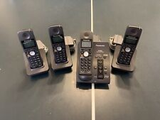 Panasonic Phone System KX-TG6051B 5.8GHz with 4 Handsets