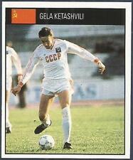ORBIS 1990 WORLD CUP COLLECTION-#227-SOVIET UNION-RUSSIA-GELA KETASHVILI