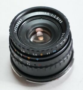Robot Schneider Xenar 45/2.8 in Leica M mount usable on Fujifilm GFX 50S