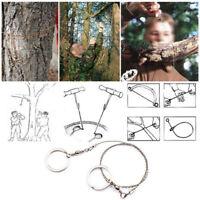 Edelstahl Drahtsäge für Holz und Kunststoff Outdoor Camping Survival