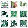 "18""*18"" Pillow Case Decoration Home Leaf Outdoor Floral Cushion Garden Covers"