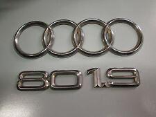 Scritta posteriore originale Audi 80 1.9.originale.  [5074.16]