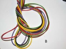 10M MIX COLOUR  GENUINE LEATHER CORD 2mm  B