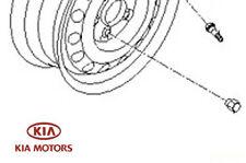 Genuine Kia Ceed 2009-2017 Wheel Nut - (For Alloy Wheels) - 5295014140