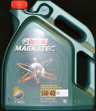 5 Liter Castrol Magnatec 5W-40 C3 Motoröl 5W40 Opel BMW LL-04 MB 229.31 AUDI