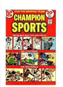 "1973-74 DC Comics, "" Champion Sports "",# 1 to # 3, U-Pick , VF, BX49."