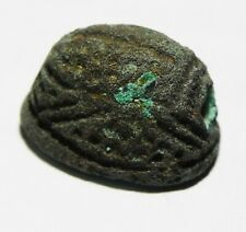 ZURQIEH -AS11091- ANCIENT EGYPT, THUTMOSE III BRONZE SCARAB, VERY RARE!!!!!