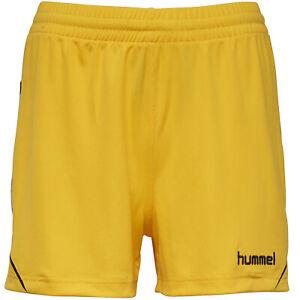 hummel Authentic Charge Damen Trainings Shorts 011335-5001 Gr. XS gelb neu