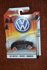HOT WHEELS 52 1952 BEETLE / KEVER / BUBBLA ☆ VW VOLKSWAGEN RAT RODS 1/50