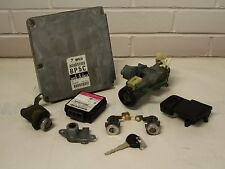Mazda MX5 - Mk2.5 (NBFL) 01-05 - ECU AND LOCK SET - BP5C CODE - ignition door