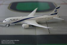 Phoenix Model El Al Israel Boeing 787-8 in Standard Color Diecast Model 1:400
