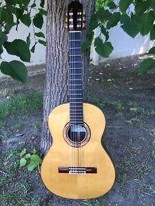 Flamenco Guitar - 2017 Hermanos Sanchis-Lopez 1F Extra negra - mint condition