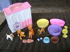 A-1 Barbie Mattel Lot Of Asst Pets And Accessories
