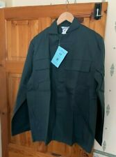 1no. 1008R (44 inch)Forest Green ALSICO  FLAME RETARDANT  DUST/WORK COAT