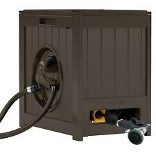 Suncast 125 ft. AquaWinder® Auto Rewind Hose Reel, Java, Rsh125J Brown,Java