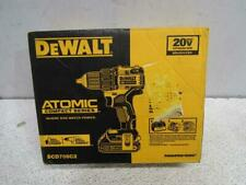 DeWalt Dcd708C2 Atomic 20V Max Cordless Compact 1/2In Drill Driver Kit