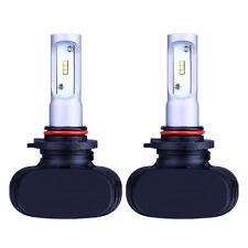 2x 9005 HB3 HID White 6000K Single Beam 50W 8000LM LED Headlight Bulbs Lamps