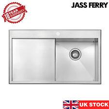 JASS FERRY New 1.2mm Stainless Steel Kitchen Sink Premium Handmade Left Drainer