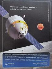 5/2006 PUB NORTHROP GRUMMAN SPACE SYSTEMS NASA MERCURY GEMINI APOLLO ISS MARS AD
