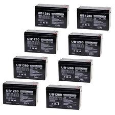UPG 8 Pack - UPG D5779 UB1280-F2 Universal Lead Acid Battery