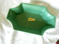 Royal HAEGER Planter Pot  Flower Ware Ikebana Vase Green Matt Spatterware AG187
