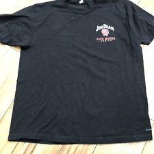 Jim Beam Live Music Series 2004 Usa Concert Men'S Xl Black T-Shirt