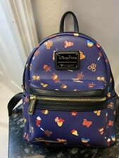 DISNEY PARKS LOUNGEFLY SNACK SNACKS FOOD FOODS ICON ICONS BACKPACK PURSE