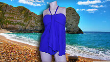 NWT GOTTEX RAY OF LIGHT Fly Away 2 pc COBALT BLUE TANKINI SWIMUIT SZ- 12