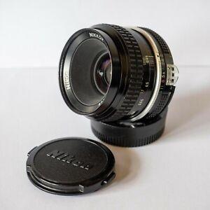 Nikon Nikkor 50mm f2 Ai manual focus lens
