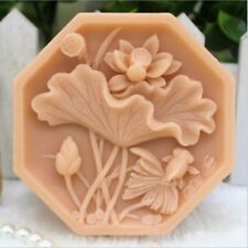 Lotus Flower Soap Bar Mold Silicone Mold Handmade Flower Mold Craft Soap Mold