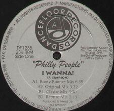 PHILLY PEOPLE - I Wanna! - DANCEFLOOR