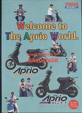 Yamaha YG50 Jog Aprio (1995) Japanese Market Sales Brochure YG 50 S Scooter AA30