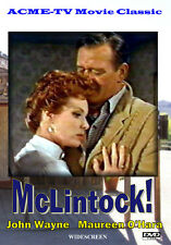 McLintock! Starring John Wayne and Maureen O'Hara DVD-R Widescreen Color 0/All