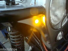 Street Rod AMBER LED Turn Signal Indicators PAIR NEW ITEM 12 Volt