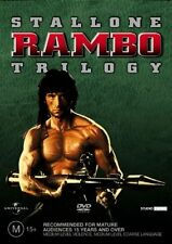 The Rambo Collection [3 DVD Box Set] , Region 4, LIKE NEW, Fast Post....5247*