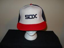 Vtg Chicago White Sox 1980s Official MLB snapback hat - (sku#2)
