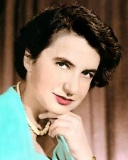 "ROSALIND FRANKLIN BRITISH BIOPHYSICIST DNA 8x10"" HAND COLOR TINTED PHOTOGRAPH"