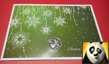 2012 Isle of Man Christmas 50p Pence Nativity Angel Silver Proof Coin Card RARE