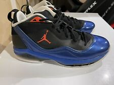 Air Jordan Melo M8 Blue Ribbon Orange Flywire Mens 12 Shoes 469786-006 Knicks