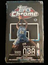 2003-04 Topps Chrome Basketball Hobby Box